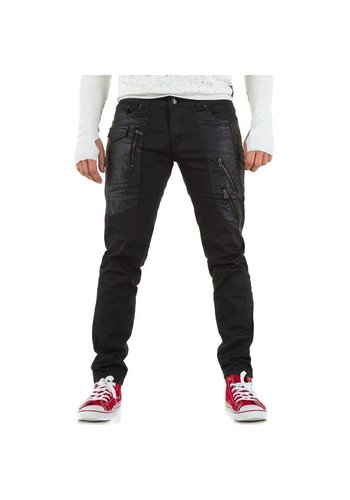 TONY MORO Heren Jeans van Tony Moro - Zwart