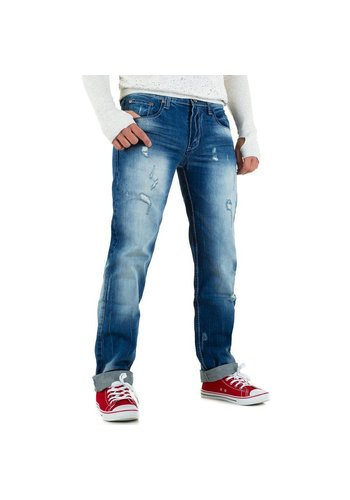 Mario Louis Denim Heren Jeans van Mario Louis Denim - Blauw