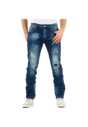 BLACK ACE Heren Jeans van Black Ace - blauw