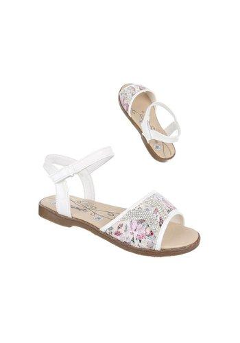 COMET Kinder Sandalen - wit