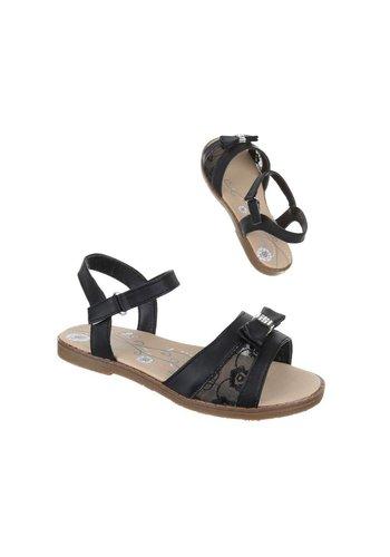 COMET Kinder Sandalen - zwart