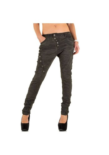 LEXXURY Dames Jeans van Lexxury - Donker Grijs