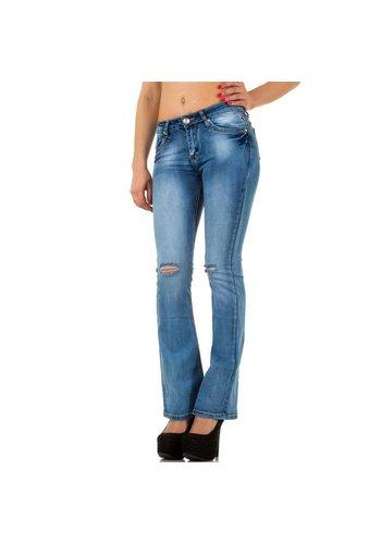 Rjonaco Damen Jeans von Rjonaco - blue