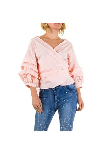 SHK MODE Dames Blouse van Shk Mode - roze