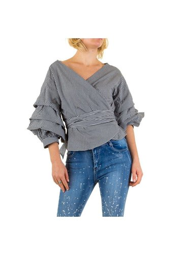 SHK MODE Dames Blouse van Shk Mode - zwart