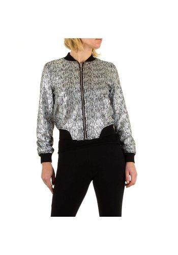 Neckermann Damen Jacke - silver