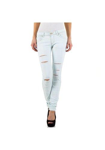 RJONACO DENIM Damen Jeans von Rjonaco Denim - offwhite