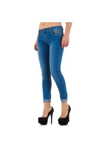 Semaforo Jeans pour femme de Semaforo - bleu