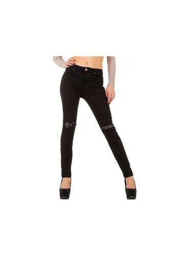 Mozzaar Damen Jeans von Mozzaar - black