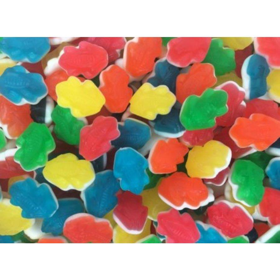 Farbige Frösche 420 Gramm