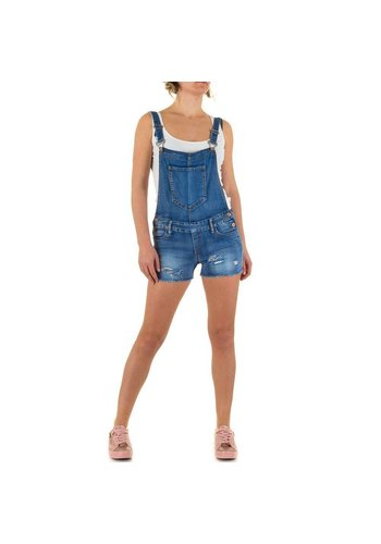 Ld style Short de dames de LD Style - bleu