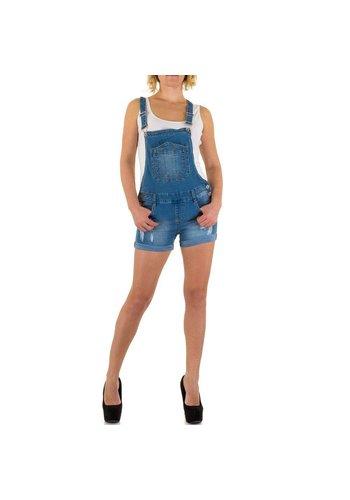 Farfalina Dames Shorts van Farfalina - blauw