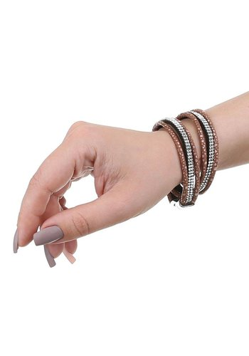 Neckermann Damen Armband - taupe