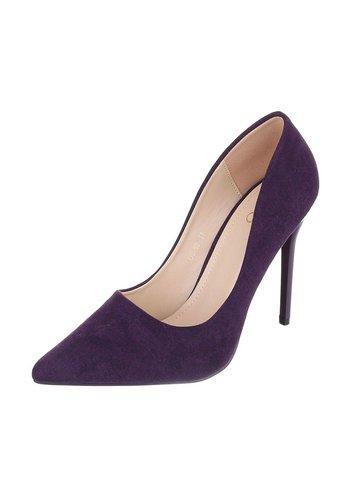 S.S Damen High Heels - puprple