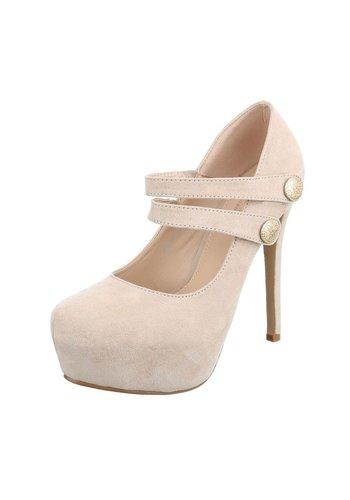 Neckermann Damen High Heels - beige