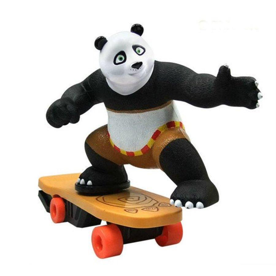 Magic Skateboard Panda - 27x29 cm