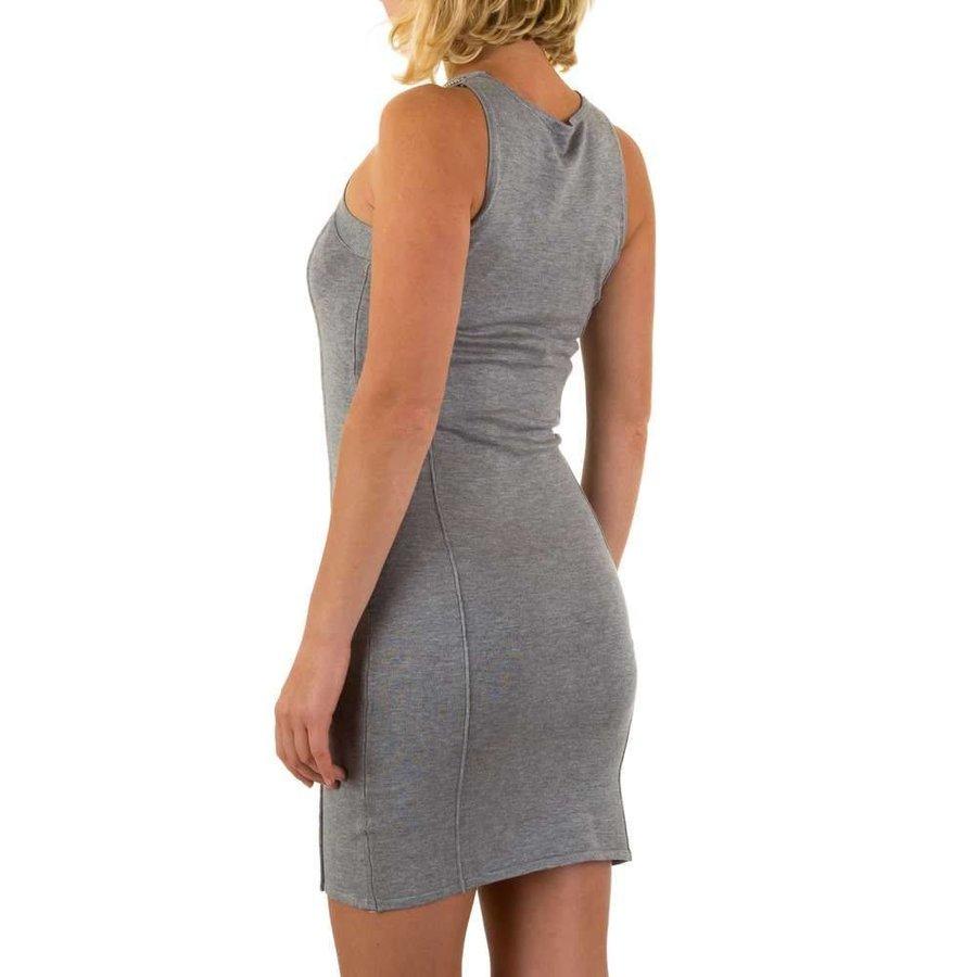 Damen Kleid von Moewy Gr. one size - grey