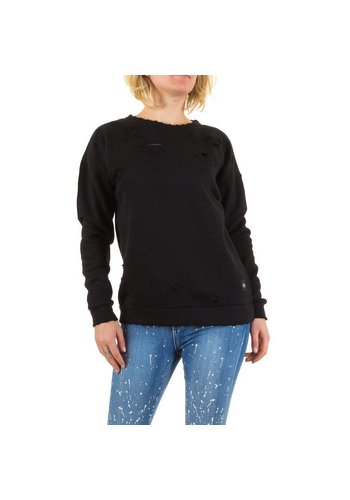 SIXTH JUNE PARISIENNES Damen Sweatshirt von Sixth June Parisiennes - black
