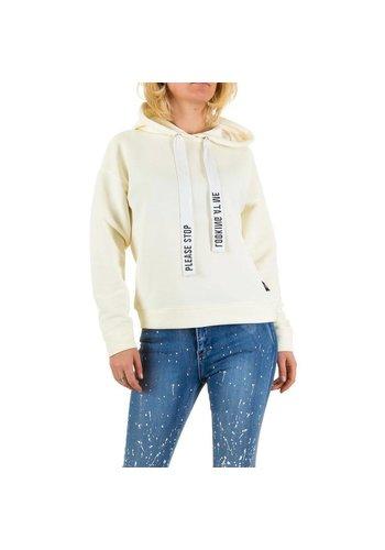 SIXTH JUNE PARISIENNES Damen Sweatshirt von Sixth June Parisiennes - offwhite