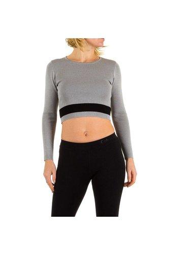 Neckermann Damen Pullover Gr. one size - grey