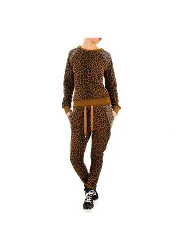 EMMA&ASHLEY DESIGN Damen Overall von Emma&Ashley Design - leopardgrain