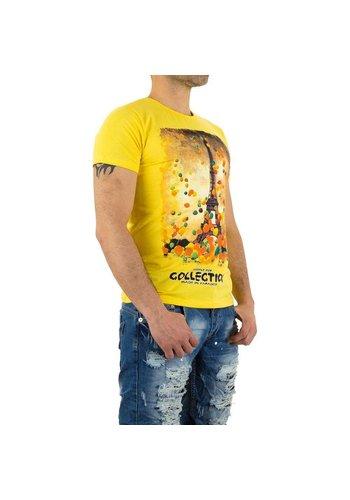 X-Man Herren T-Shirt von X-Man - yellow