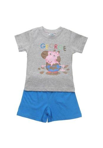 Markenlos Kinder Schlafanzug von Peppa - grey