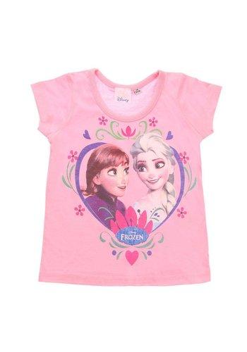 Markenlos Kinder T-Shirt van Disney - Roze