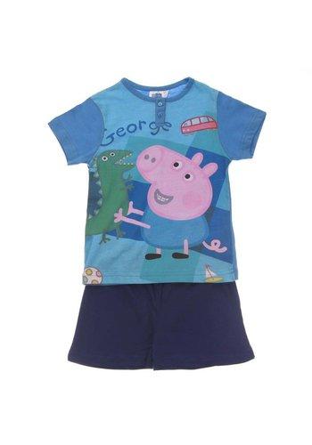 Markenlos Kinder Schlafanzug von Peppa - blue