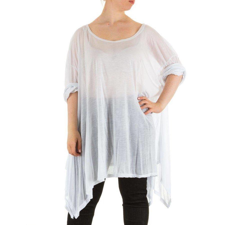 Damen Tunika Gr. one size - white