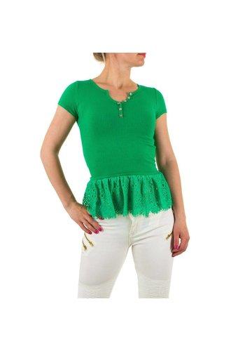 Neckermann Dames Shirt - groen