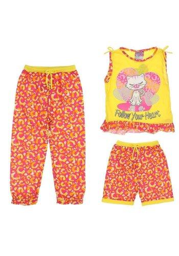 Neckermann Kinder Set broek en shirt Geel