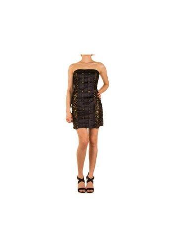 Neckermann Damen Kleid Gr. one size - gold