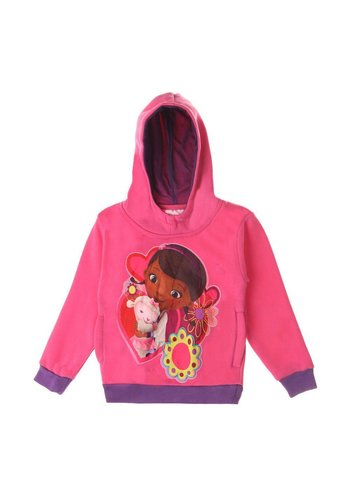 Markenlos Kinder Hoodie van Disney - Roze