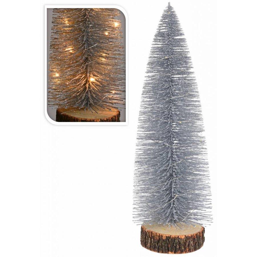 Neckermann Kerstboom met verlichting assorti 28 cm - Neckermann.com