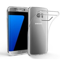 Transparentes Gehäuse Samsung S7 Rand