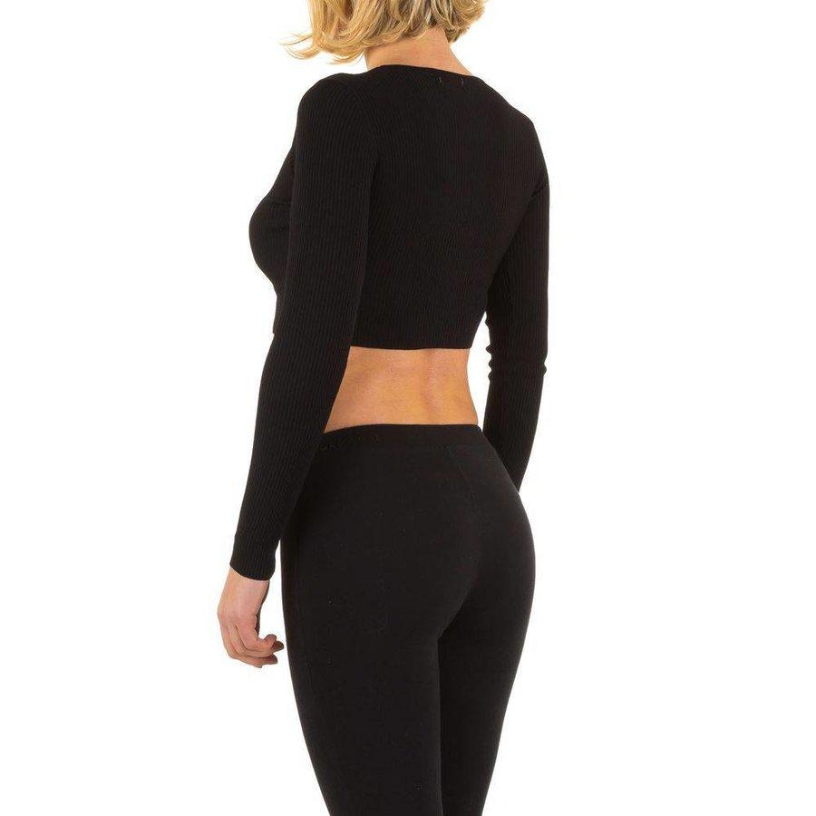 Damen Strickjacke Gr. one size - black