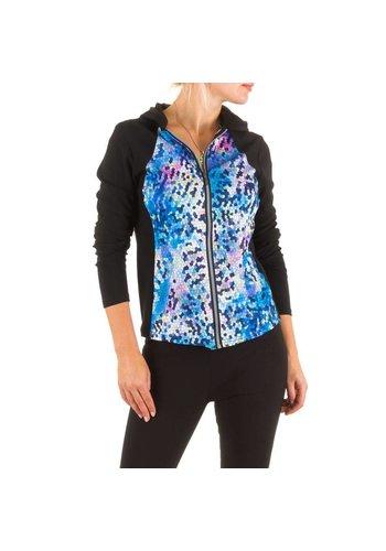 Best Fashion Damen Jacke von Best Fashion - blue