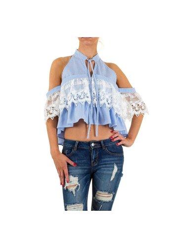 SHK MODE Damen Bluse von Shk Mode - blue