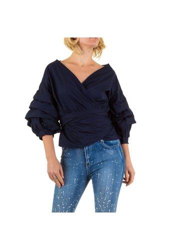 SHK MODE Damen Bluse von Shk Mode - DK.blue