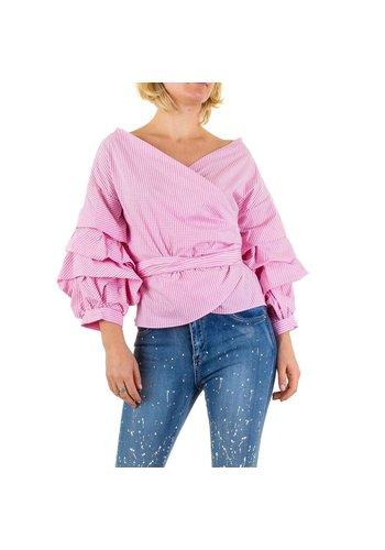 SHK MODE Damen Bluse von Shk Mode - rose