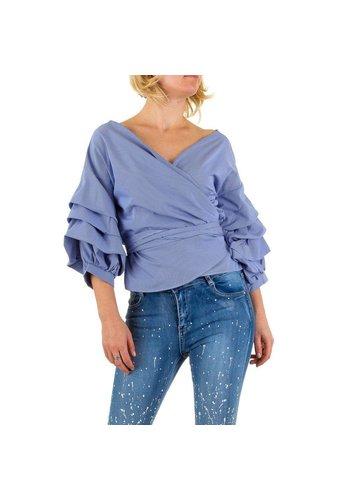 SHK MODE Damen Bluse von Shk Mode - violet