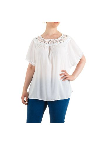 Neckermann Damen Bluse Gr. one size - white