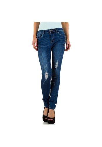 Mybestiny Damen Jeans von Mybestiny - blue