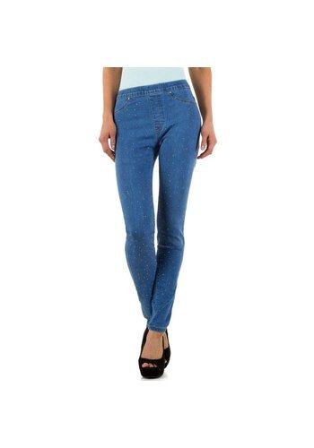 Adoro Denim Dames Jeans van Adoro Denim - Blauw