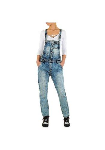 Angelica Jeans Dames Jeans van Angelica Jeans - Blauw