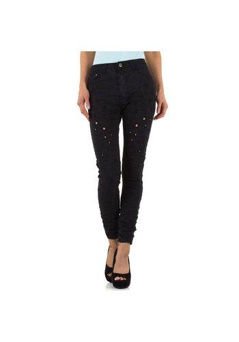 PLACE DU JOUR Damen Jeans von Place Du Jour - black