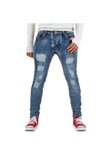 BRUNO LEONI Heren Jeans van Bruno Leoni - Blauw