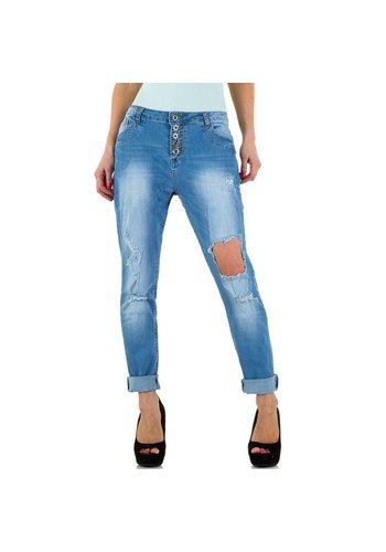 Naumy Jeans Damen Jeans von Naumy Jeans  - L.blue