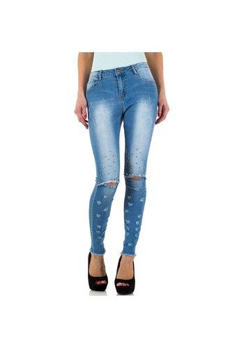 Naumy Jeans Damen Jeans von Naumy Jeans  - blue